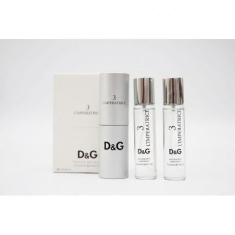 Набор парфюма Dolce & Gabbana 3 L`imperatrice 3х20ml