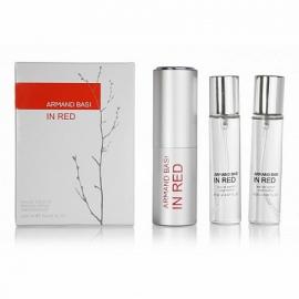 Набор парфюма Armand Basi In Red 3х20ml