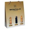 Набор мини парфюма Montale (Aoud Queen Roses, Black Aoud, Pure Gold) 3 по 15 мл