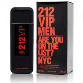 Мужская туалетная вода Carolina Herrera 212 VIP Men Are You on The List