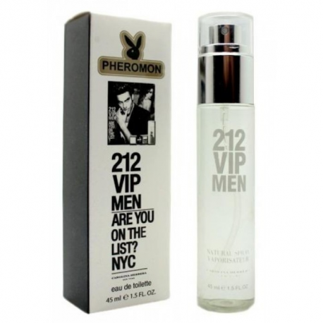 Парфюм с феромоном Carolina Herrera 212 Vip Men 45 ml