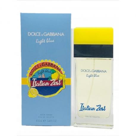 Туалетная вода Dolce & Gabbana Light Blue Italian Zest