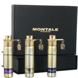 "Montale 3x20 "" Aoud Lavender + Amber & Spices + Tropical Wood"""