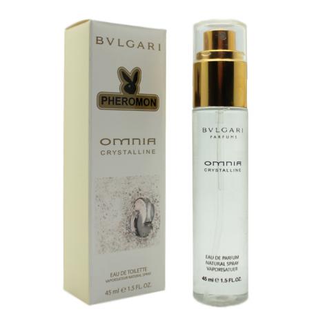 Парфюм с феромоном Bvlgari Omnia Crystalline 45 ml