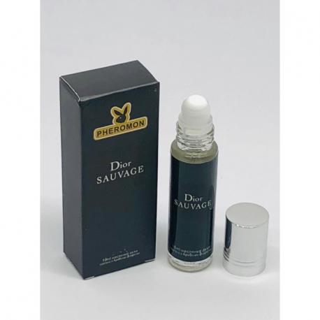 Масляные духи с феромонами Christian Dior Sauvage 10 мл.