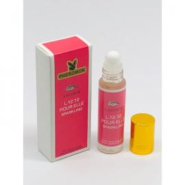 Масляные духи с феромонами Lacoste L.12.12 Pour Elle Sparkling 10 мл.