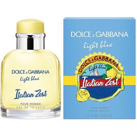 "DOLCE & GABBANA ""LIGHT BLUE ITALIAN ZEST POUR HOMME"" 100 МЛ(ORIGINAL)"