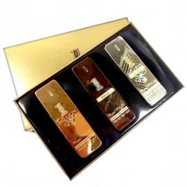 Подарочный парфюмерный набор Paco Rabanne 1 Million 3 в 1