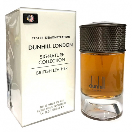 Dunhill Signature Collection British Leather EDP tester мужской (Euro)