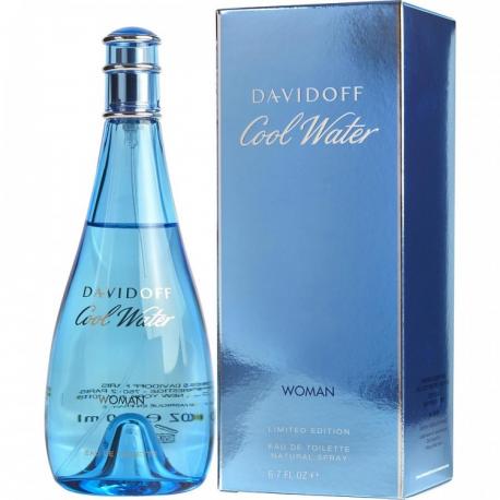 Туалетная вода Davidoff Cool Water Woman (Euro)