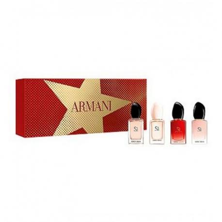 Подарочный парфюмерный набор Giorgio Armani Si 4 в 1